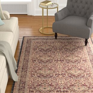 Looking for Marion Power Loomed Cotton Black/Beige/Burgundy Area Rug ByDarby Home Co