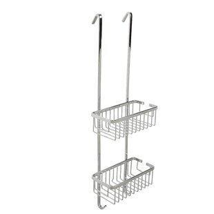 Rebrilliant Ellenberger Aluminum 2-Tier Hook Over Basket