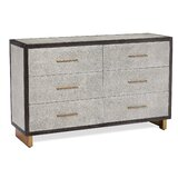 Maia 6 Drawer Double Dresser by Interlude