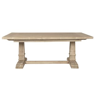 Derwent Leaf Extendable Dining Table Three Posts