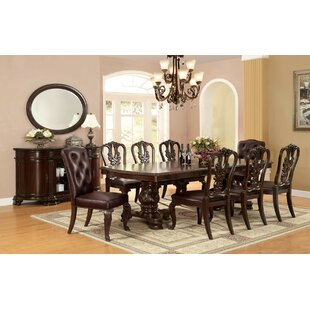 Silver Dining Table by Astoria Grand