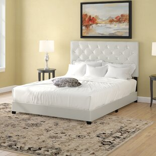 Ridenhour Diamond Upholstered Panel Bed by Charlton Home