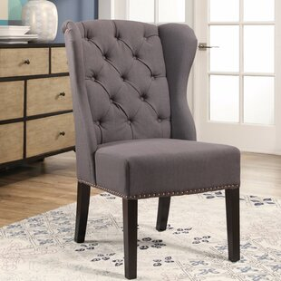 High Wingback Dining Chair | Wayfair
