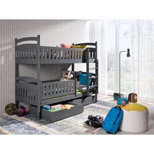 Ewing Single (3') Bunk Bed With Drawers By Harriet Bee