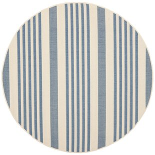 Higgs Blue/Beige  Area Rug by Beachcrest Home