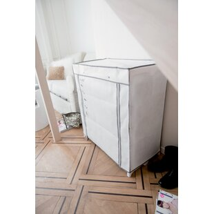 25 Paar Shoe Storage Cabinet By Rebrilliant