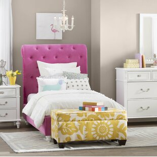 Compare prices Dena Upholstered Platform Bed by Viv + Rae Reviews (2019) & Buyer's Guide