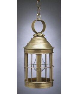 Northeast Lantern Heal 1-Light Outdoor Hanging Lantern