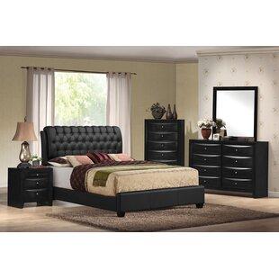 Santillan Upholstered Panel Bed by Red Barrel Studio