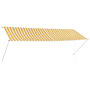 Binx 3.5 X 1.5m Retractable Patio Awning By Sol 72 Outdoor
