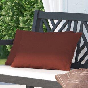 Hawkes Brook Outdoor Lumbar Pillows (Set of 2)