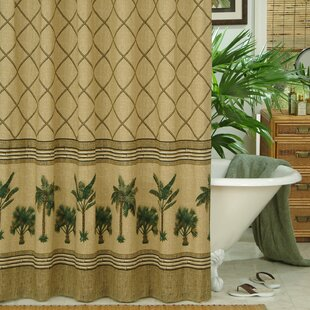 Kona Cotton / Polyester Single Shower Curtain
