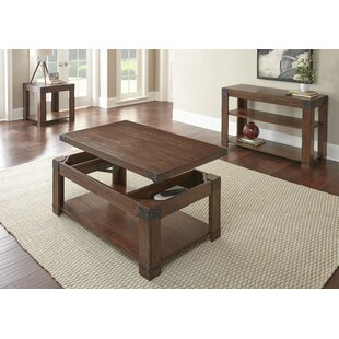 Darby Home Co Angelique 3 Piece Coffee Table Set