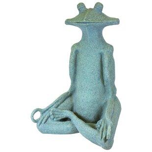 EMSCO Group Yoga Frog Statue