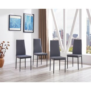 Raze Modern Upholstered Dining Chair (Set of 4)
