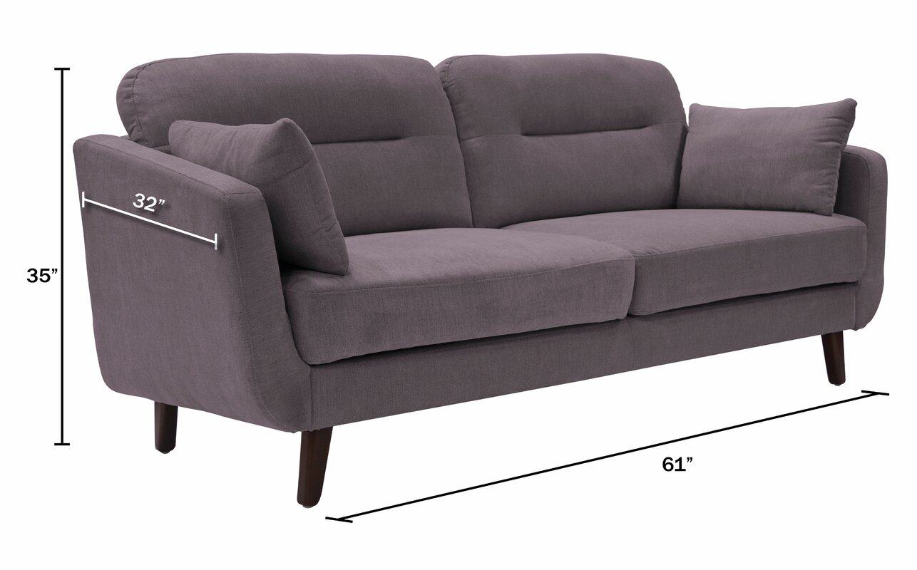 Marvelous Chloe Mid Century Modern Sofa