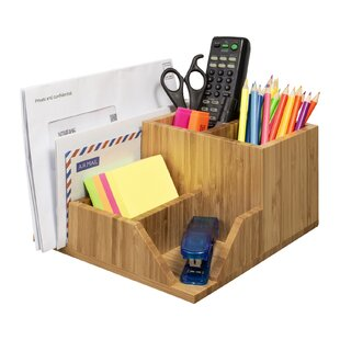 Fierro 5 Sections Adjustable Desk Organiser By Brambly Cottage