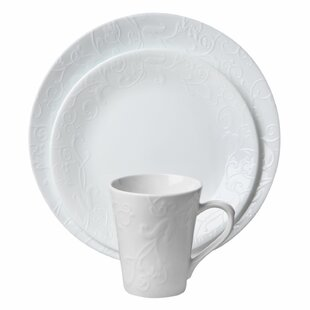 Corelle Embossed Bella Faenza 16-pc Dinnerware Set  sc 1 st  Wayfair : corelle dinnerware set deals - pezcame.com
