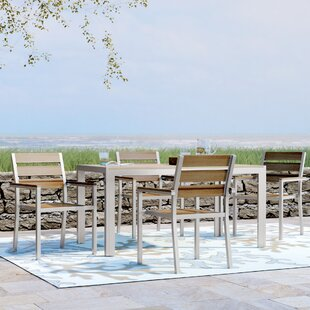 Allen Stacking Patio Dining Chair (Set Of 4) By Beachcrest Home
