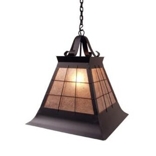 Steel Partners Top Ridge 1-Light Outdoor Pendant