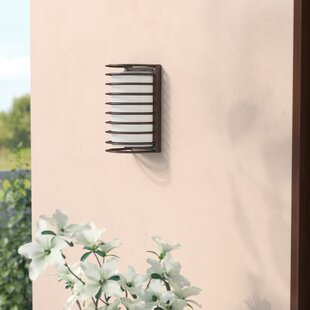 Inexpensive Buradale 1-Light Outdoor Flush mount By Latitude Run