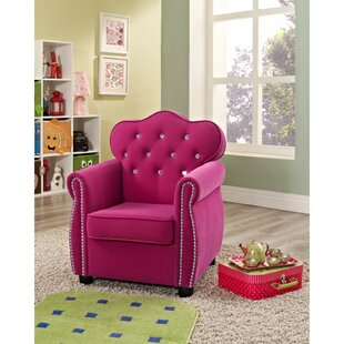 Shaima Kids Faux Leather Chair ByHarriet Bee