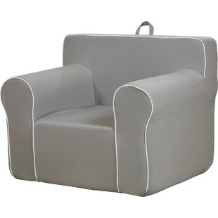 My Comfy Kids Polyester Chair In Light Gray