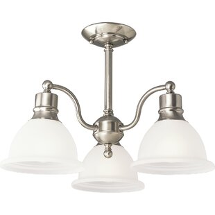 Gradall 3-Light Semi Flush Mount by Three Posts