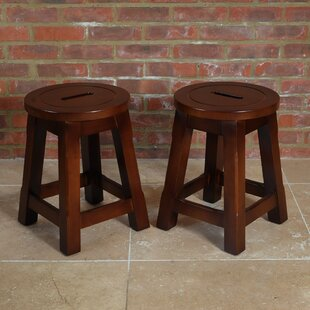 Bryanna 47.5cm Bar Stool (Set Of 2) By Union Rustic