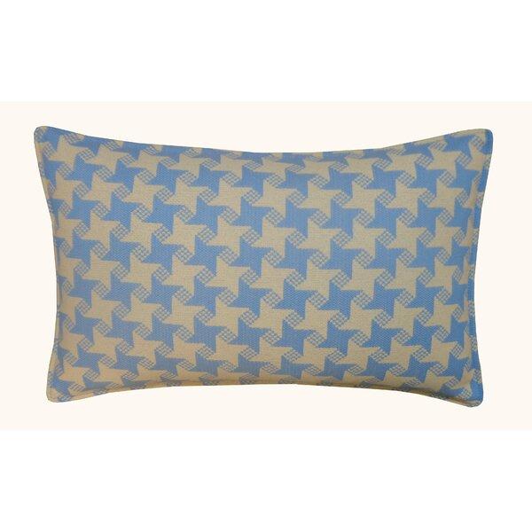 Jiti Houndstooth Outdoor Lumbar Pillow U0026 Reviews | Wayfair