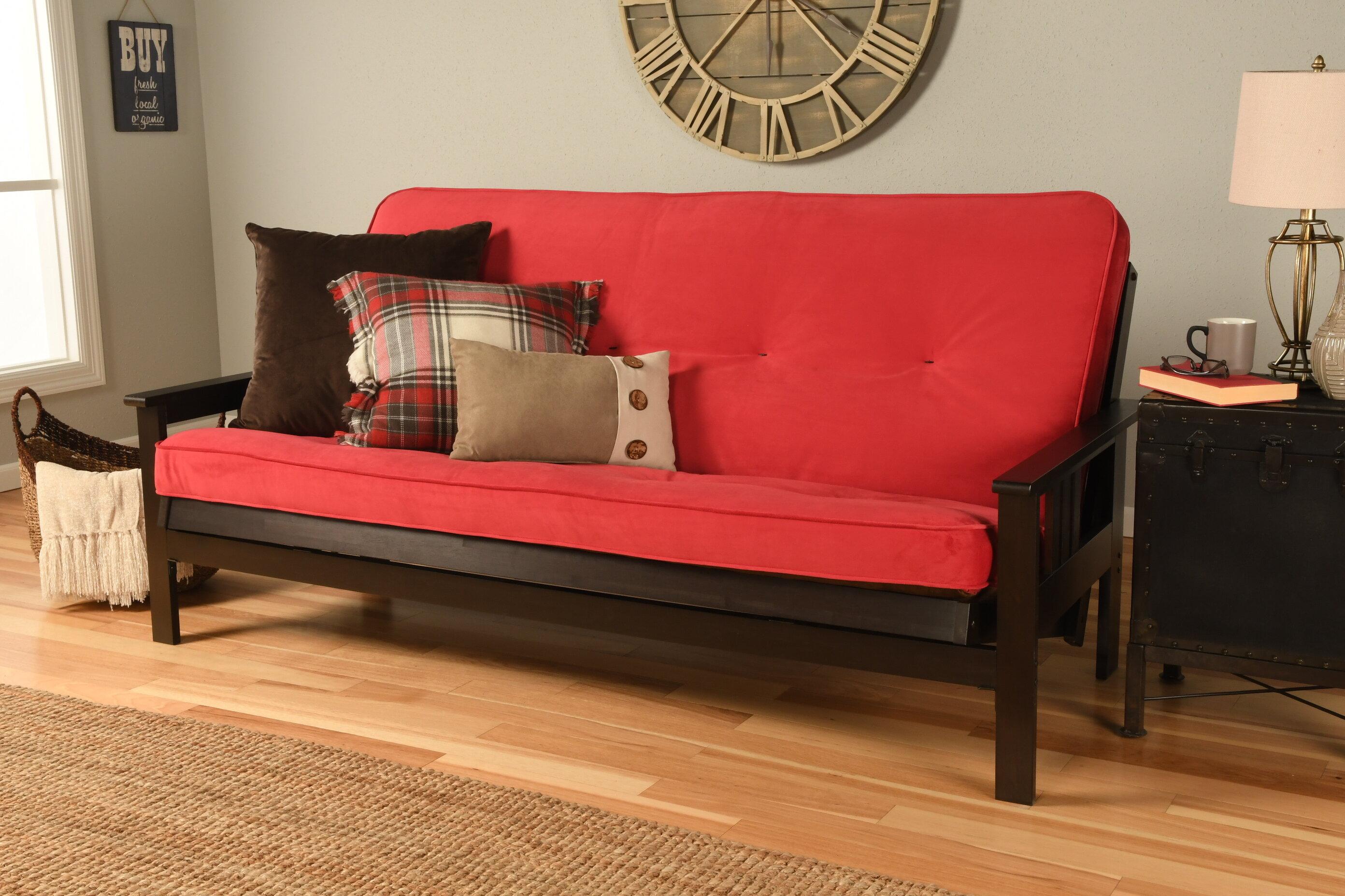 Skelly Full Cushion Back Futon