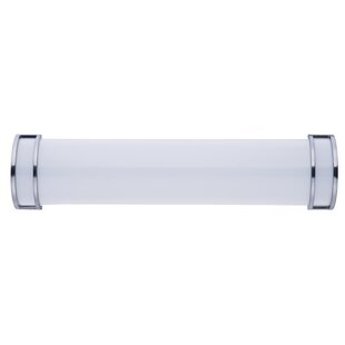 Compare prices Rhonda 1-Light LED Bath Bar By Latitude Run