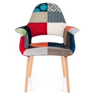 George Oliver Westerleigh Patchwork Upholstered Dining Chair