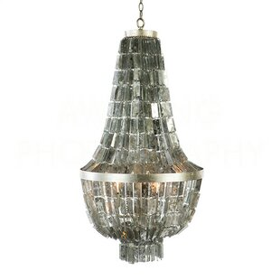 Aidan Gray Glendive Mirror Small Empire Chandelier