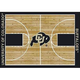 Best NCAA College Home Court Colorado - Buffalos Novelty Rug ByMy Team by Milliken