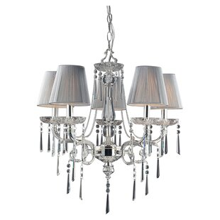 Kinser 5-Light Shaded Chandelier By House of Hampton