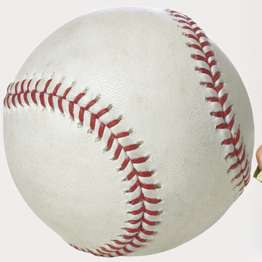 SPORTS BASEBALLS cutout Wallpaper Border 3/""