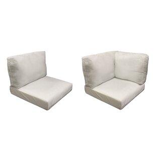 Coast 19 Piece Outdoor Cushion Set By TK Classics