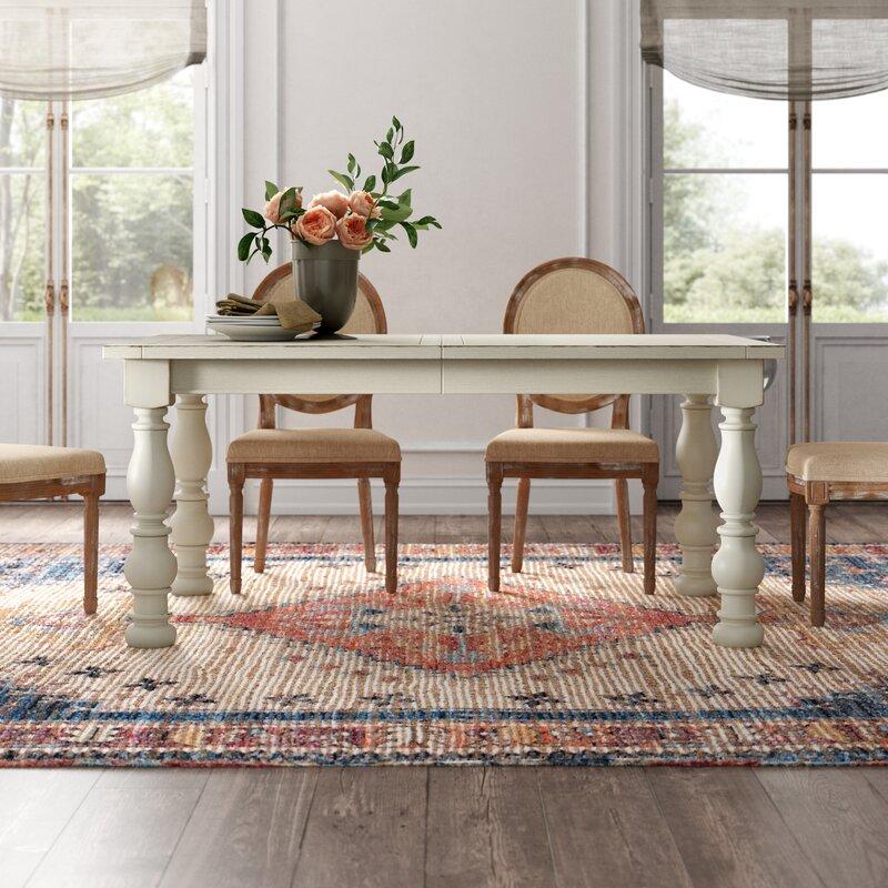 Kelly Clarkson Home Sylvan Extendable Dining Table Reviews Wayfair