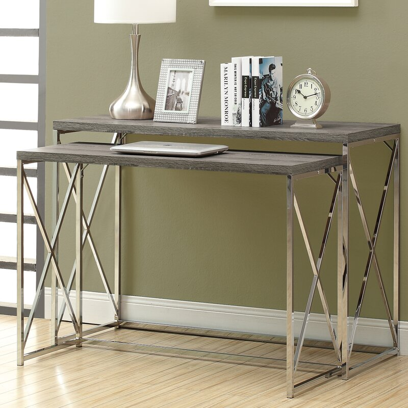 Mercury Row Balog 2 Piece Console Table Set & Reviews | Wayfair