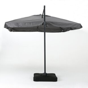 Brayden Studio Callister 10' Square Cantilever Umbrella