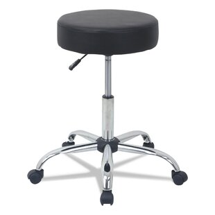 Yokota Height Adjustable Lab Stool by Symple Stuff New Design
