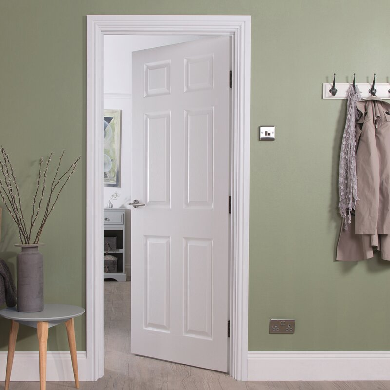 Bostonian Hollow Panelled Slab Internal Door & Jeld Wen Bostonian Hollow Panelled Slab Internal Door \u0026 Reviews ...