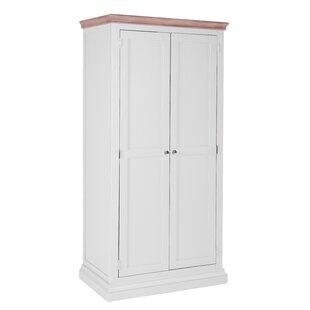 Burdette 2 Door Wardrobe By Brambly Cottage