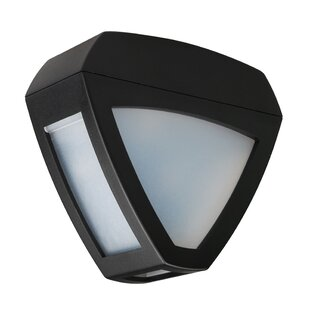 Upper Stanton Wall Mounted 2-Light Outdoor Bulkhead Light (Set of 2)