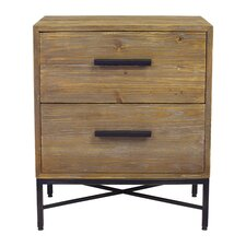 Angora 2 Drawer Nightstand by Design Tree Home