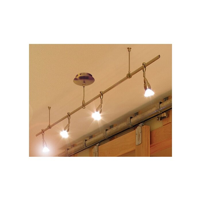Monorail 4 light straight track kit