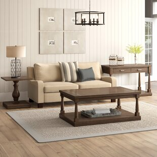 Fortunat 3 Piece Coffee Table Set