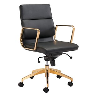 Everly Quinn Lakes Low Back Office Chair