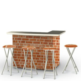 Best of Times Boston Brick 7 Piece Bar Set